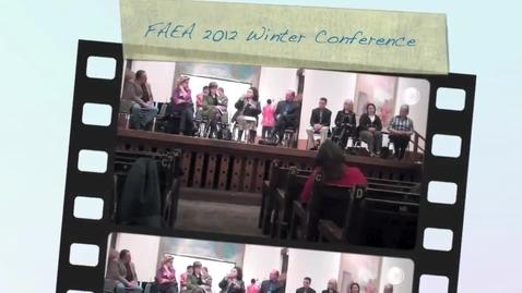 Thumbnail for entry FAEA 2012 Santa Fe Conference