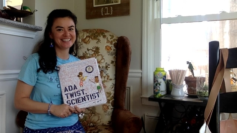 Thumbnail for entry Ada Twist, Scientist read by Scientist Diana