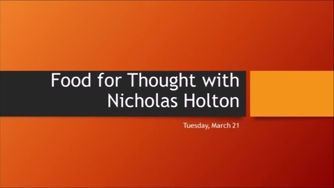 Thumbnail for entry F4T Nicholas March 21