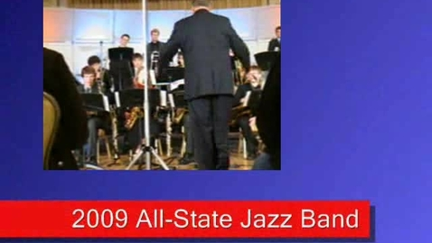 """Thumbnail for entry All-State Jazz Band - """"Great Waters"""" (2)"""