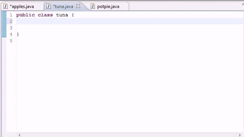 Thumbnail for entry Java Programming Tutorial - 44 - Enumeration