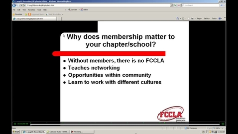 Thumbnail for entry FCCLA Membership and Recruitment Webinar