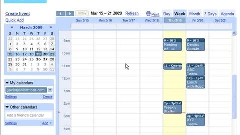 Thumbnail for entry Customizing Calendars