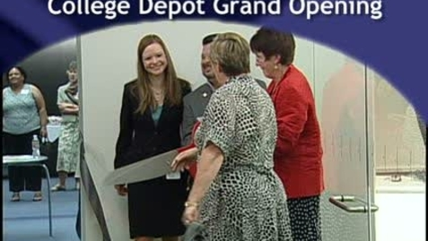 Thumbnail for entry College Depot Grand Opening