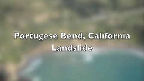 Thumbnail for entry Portuguese Bend Landslide