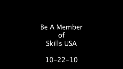 Thumbnail for entry Skills USA