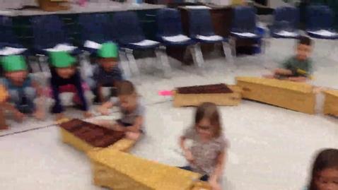 "Thumbnail for entry 14-15 Ms. Dunn's kindergarten class ""Little Green Frog"""