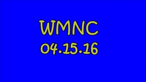 Thumbnail for entry WMNC 04.15.16