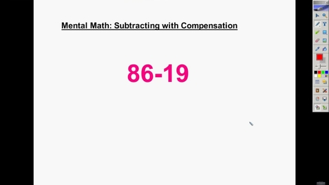 Thumbnail for entry Subtraction with Compensation