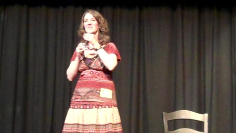 Thumbnail for entry Cherri Coleman -- Celebrating Our Roots -- HHS performance -- April 5, 2012