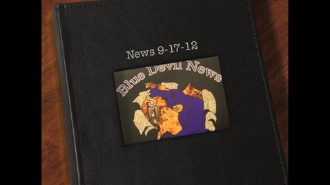 Thumbnail for entry 9-17-12 News