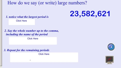 Thumbnail for entry Writing Large Numbers