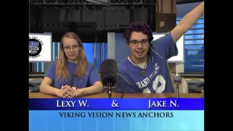 Thumbnail for entry Viking Vision News Thurs 4-7-2016