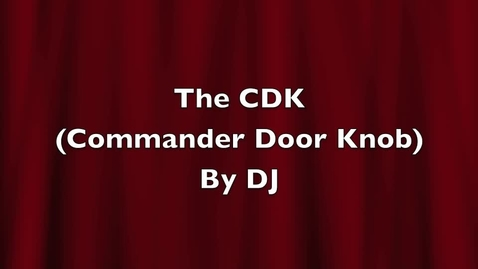 Thumbnail for entry The Commander DOORKNOB