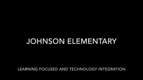 Thumbnail for entry Johnson LF-Tech Lesson