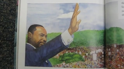 Thumbnail for entry MLK speech by second graders 2015