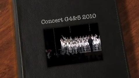 Thumbnail for entry Concert G4&5 2010