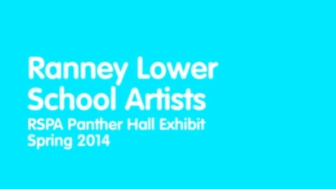 Thumbnail for entry Lower School Artists Describe Their Creations