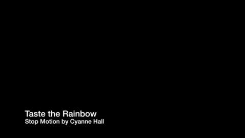 Thumbnail for entry Taste the Rainbow
