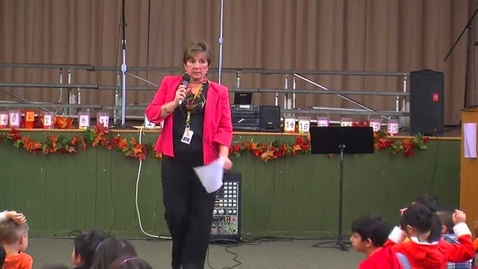 Thumbnail for entry Parker Elementary Fall Assembly 2014