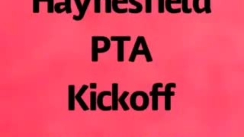 Thumbnail for entry Haynesfield PTA Kick off 2020-2021