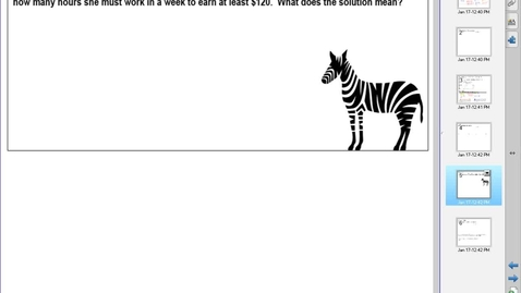 Thumbnail for entry AM Unit 6 Lesson 7 Example 3