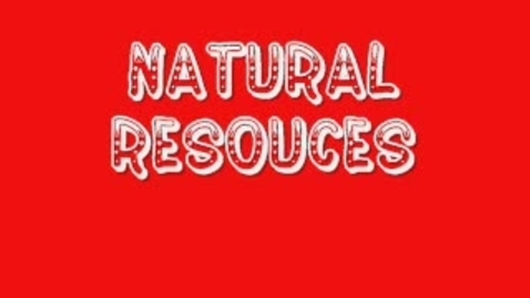 Thumbnail for entry Natural Resources 3b