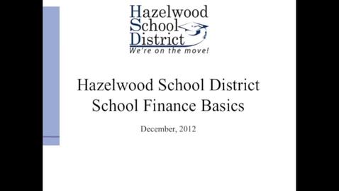 Thumbnail for entry HSD School Finance Basics 1