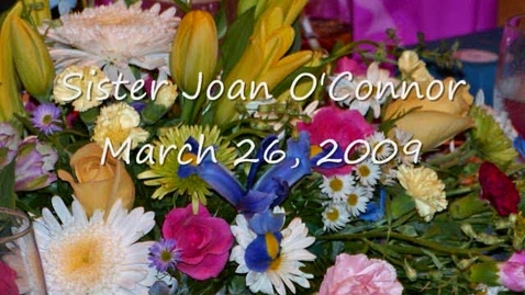 Thumbnail for entry Sister Joan's Farewell