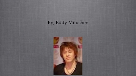 Thumbnail for entry Hiro Mashima