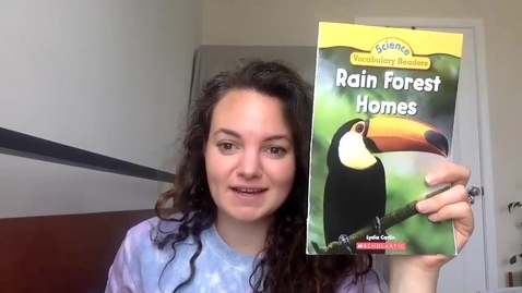 Thumbnail for entry Read Aloud Rain Forest Homes