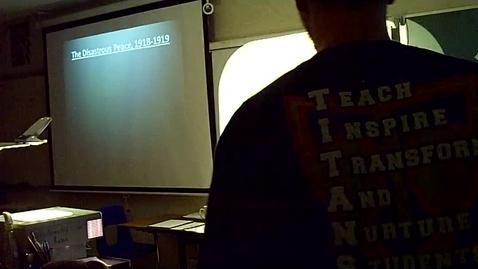 Thumbnail for entry World War I Part 3 2012