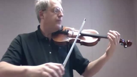 Thumbnail for entry Hoedown - Violin 1