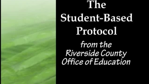 Thumbnail for entry Student-Based Protocol