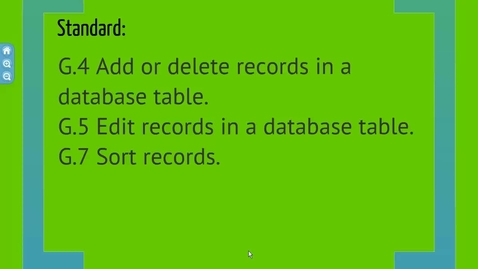 Thumbnail for entry Editing Fields and Sorting Records in Access