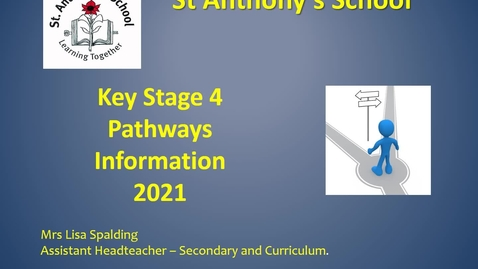 Thumbnail for entry Year 9 Pathways 2021