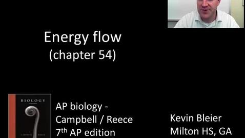 Thumbnail for entry Energy flow through ecosystems