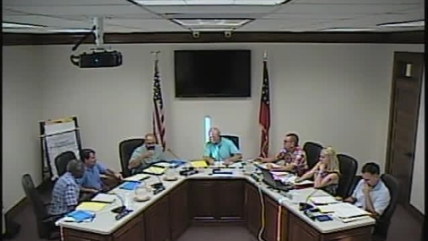 Thumbnail for entry Regular Board Meeting 072015 Part 1