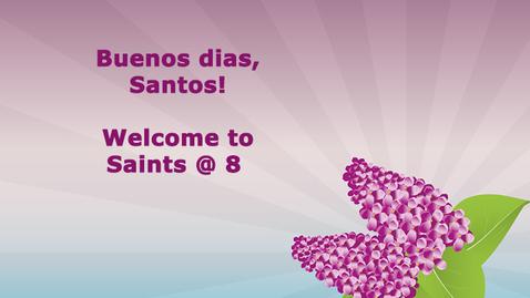 Thumbnail for entry 4-13-20 Saints @ 8