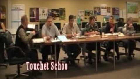 Thumbnail for entry Touchet Schools Board Meeting 11-22-2010