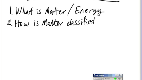 Thumbnail for entry Stephens Chemistry: Matter and Atoms Unit Review