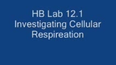 Thumbnail for entry HBS Lab 12.1