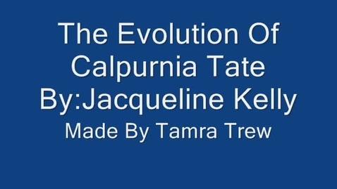 Thumbnail for entry Calpurnia Book Trailer