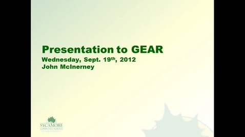 Thumbnail for entry GEAR presentation 9/19/2012