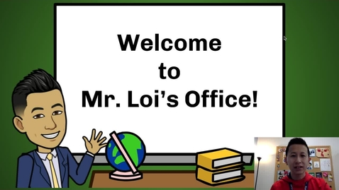 Thumbnail for entry Principal Loi's Message to Students: April 1, 2020