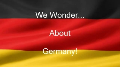 """Thumbnail for entry Kinder """"I Wonder about Germany"""""""