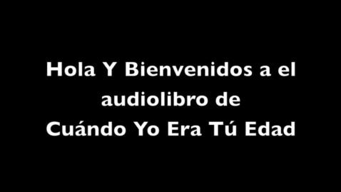 Thumbnail for entry Cuando Yo Era Tu Edad