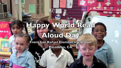 Thumbnail for entry World Read Aloud Day