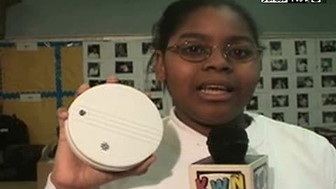 """Thumbnail for entry (2007) KWN """"Our ABC's About Smoke Detectors"""""""