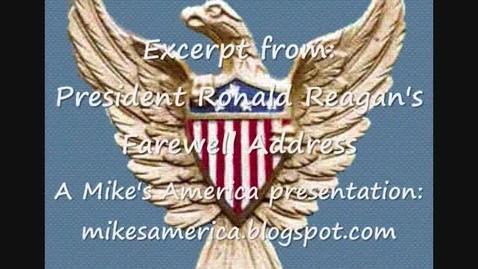 Thumbnail for entry Ronald Reagan Farewell Address